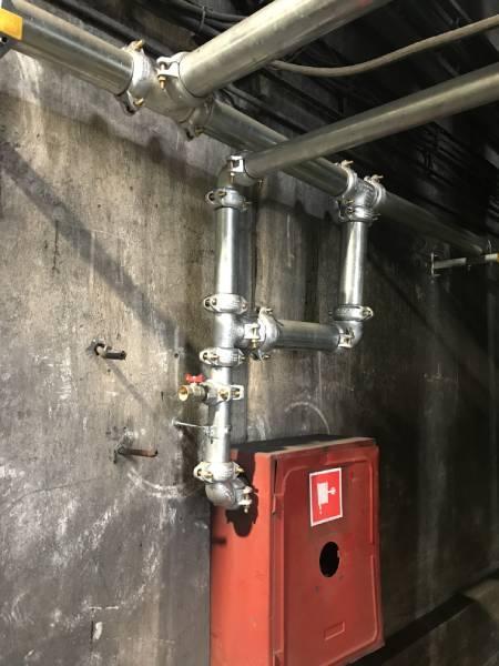 instalacja hydrantowa elektrociepłownia