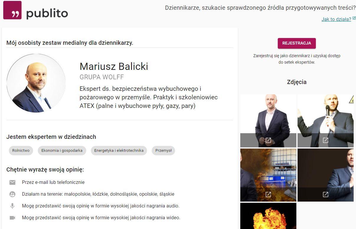 Mariusz Balicki publito